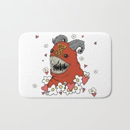 Lovey Devil Bath Mat