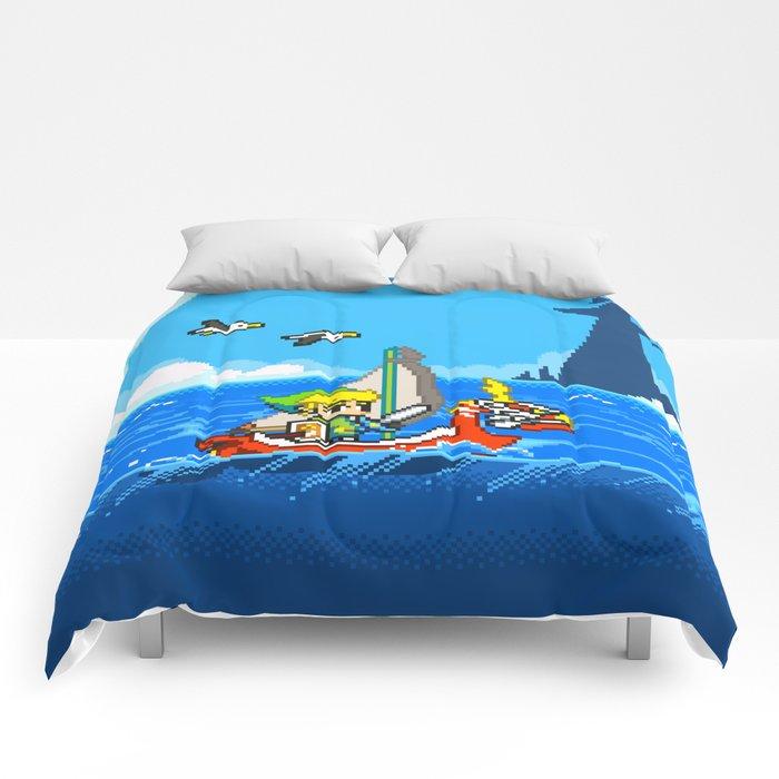 The Legend Of Zelda: Wind Waker Advance Comforters By