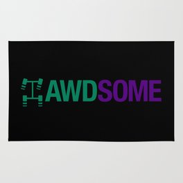 AWDSOME v6 HQvector Rug