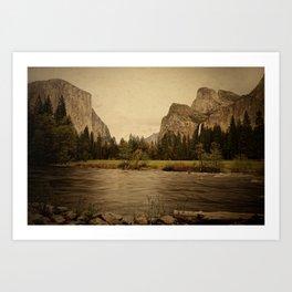 Yosemite - Study 86 Art Print