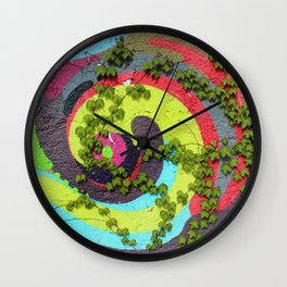 Nature vs. Nurture II Wall Clock
