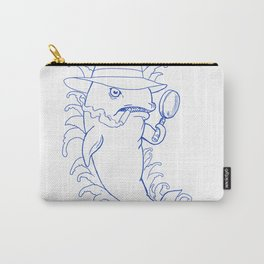Detective Orca Killer Whale Drawing Carry-All Pouch