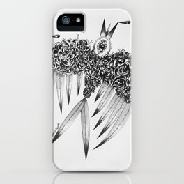 """ Spring"" (b&w) iPhone Case"