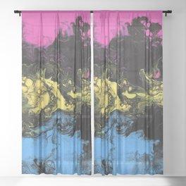 Love - Panromantic Sheer Curtain