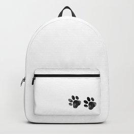 Cat's footprints Backpack