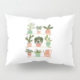 Plant Shelves Pillow Sham