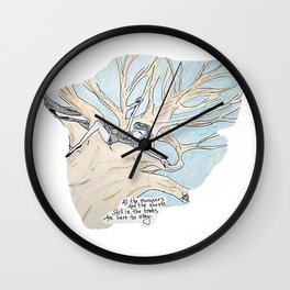 Remnant Fears Wall Clock