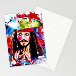 Captain Jack Sparrow Stationery Cards
