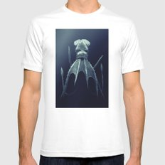 Leviathan MEDIUM Mens Fitted Tee White