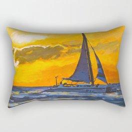 Aruba Sunset Rectangular Pillow