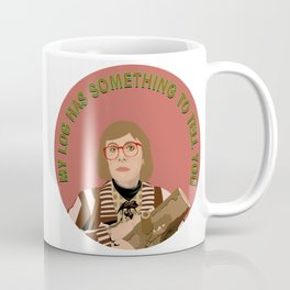 Log Lady Coffee Mug