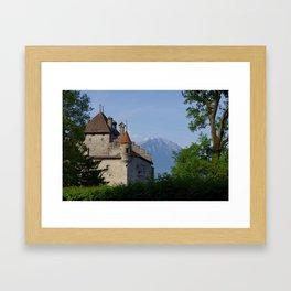 Chateau de Chillon, Switzerland  Framed Art Print