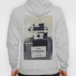Black and White Coco Hoody