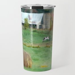 Barnyard Cows Travel Mug