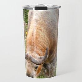 The Endangered Takin Travel Mug