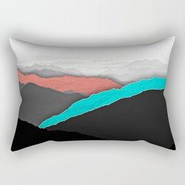 Mountain Highlights Rectangular Pillow