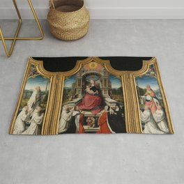 Jehan Bellegambe - The Le Cellier Altarpiece Rug