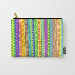 Happy colors inka pattern Carry-All Pouch