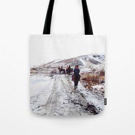 White world Tote Bag