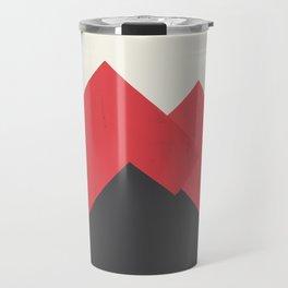 Volcano Pastel Mountains II Travel Mug