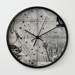 Wonderland of the Small  Wall Clock