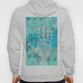 Agate Palm Reading Hoody