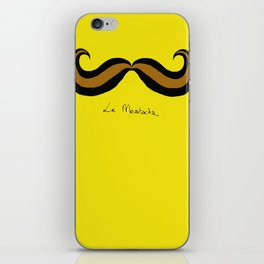 Monsieur Mustard Moustache iPhone Skin