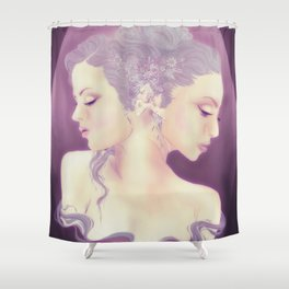 Daughters of Janus Shower Curtain