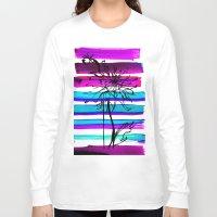 dahlia Long Sleeve T-shirts featuring DAHLIA by Emine Ortega