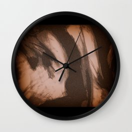 Less Travelled Wall Clock