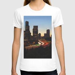 Seattle Skyline Sunset City T-shirt