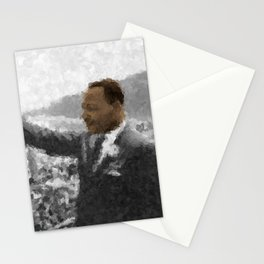 Martin Luther King Junior Wall Art Portrait, Speech, Home Decor, Dorm Decor, Freedom, Stationery Cards