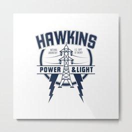 hawkins Metal Print