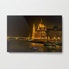 Hungarian Parliament Building Metal Print