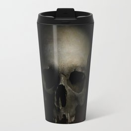 Male skull Travel Mug
