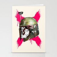 boba Stationery Cards featuring Boba Fett by efan