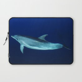 Dolphin, blue and sea Laptop Sleeve