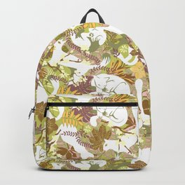 White cats Backpack