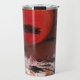 Red Moon Travel Mug