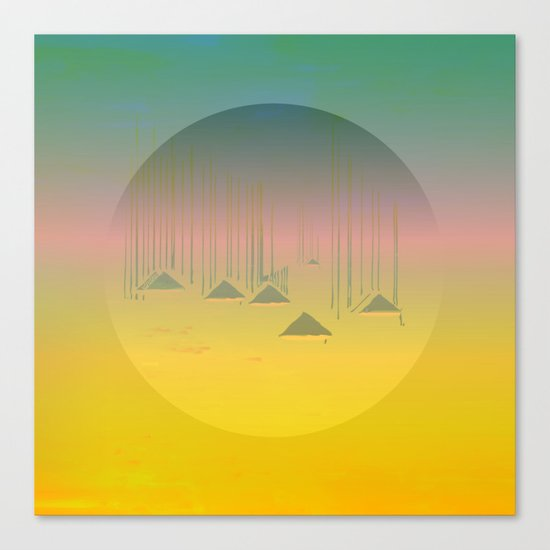 Archipelago 7 Islands / 19-01-17 Canvas Print