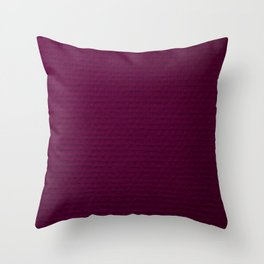Electric Purple Throw Pillow