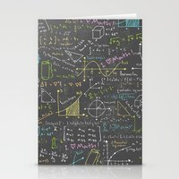 math Stationery Cards featuring Math Lessons by robyriker