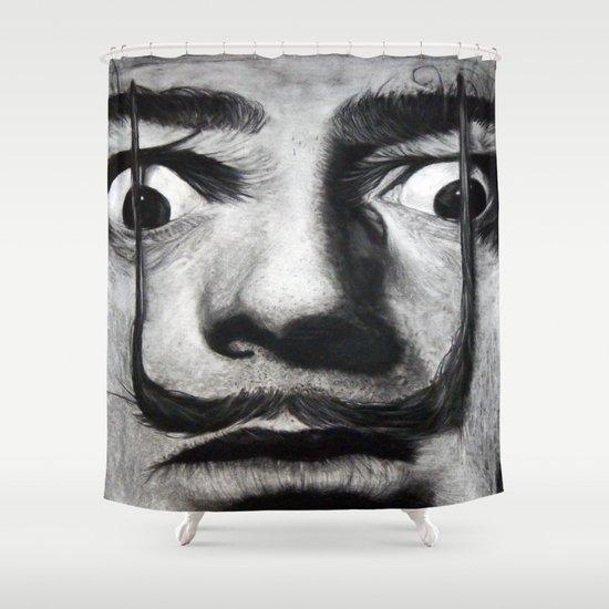 I am drugs ( Salvador Dali ) Shower Curtain