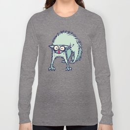 Freaked out Cat Long Sleeve T-shirt