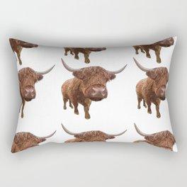 McMoo Pattern Rectangular Pillow