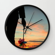 To see which way the wind blows Wall Clock