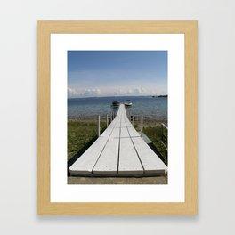 The Dock Framed Art Print