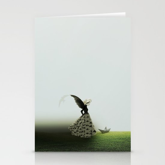 On the floor Stationery Cards