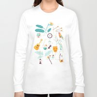 adventure Long Sleeve T-shirts featuring Adventure  by Wharton