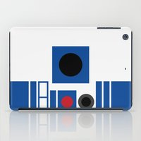 r2d2 iPad Cases featuring R2D2 by VineDesign